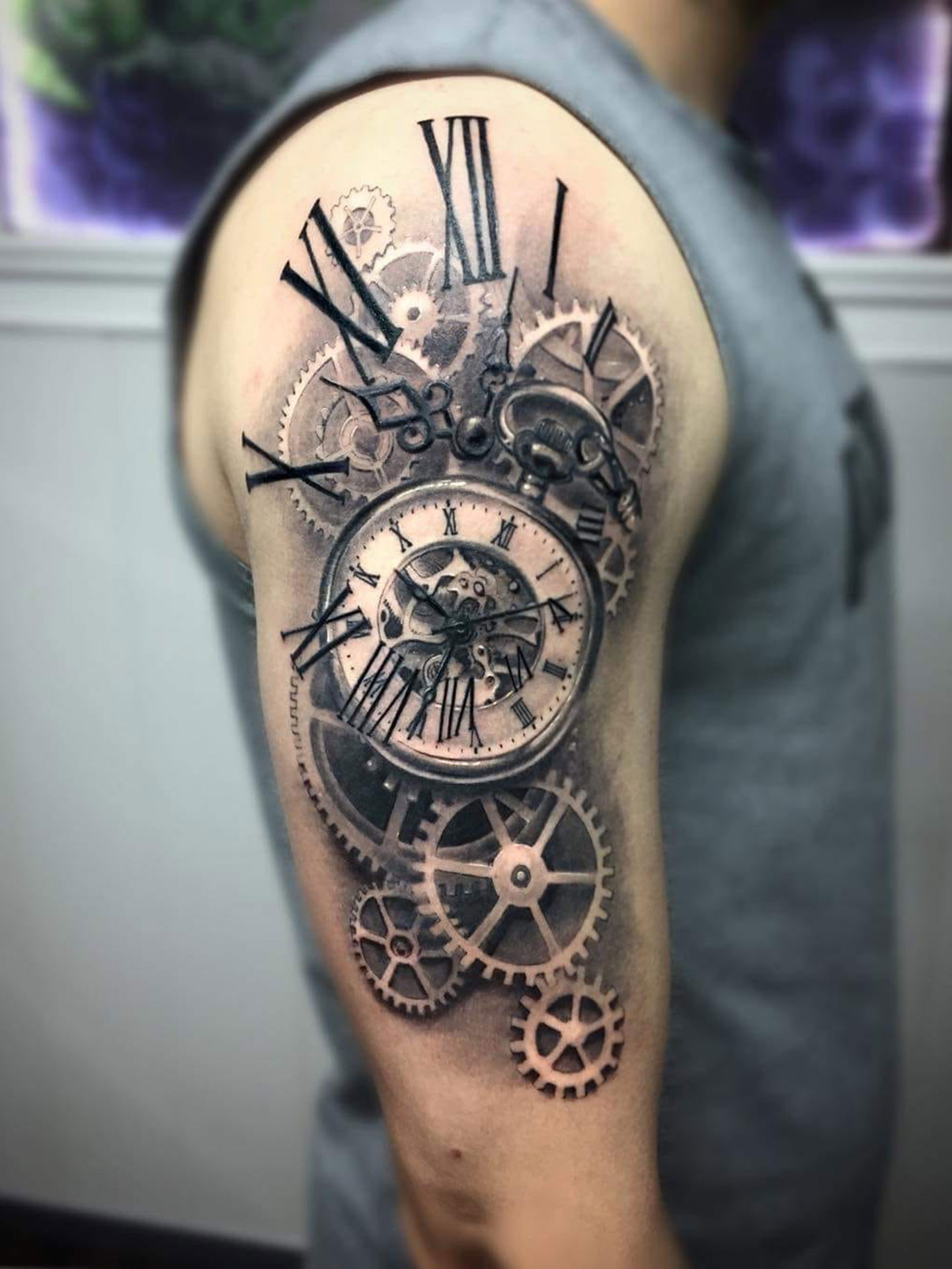 Javier Martinez Cano Energy Art Tattoo