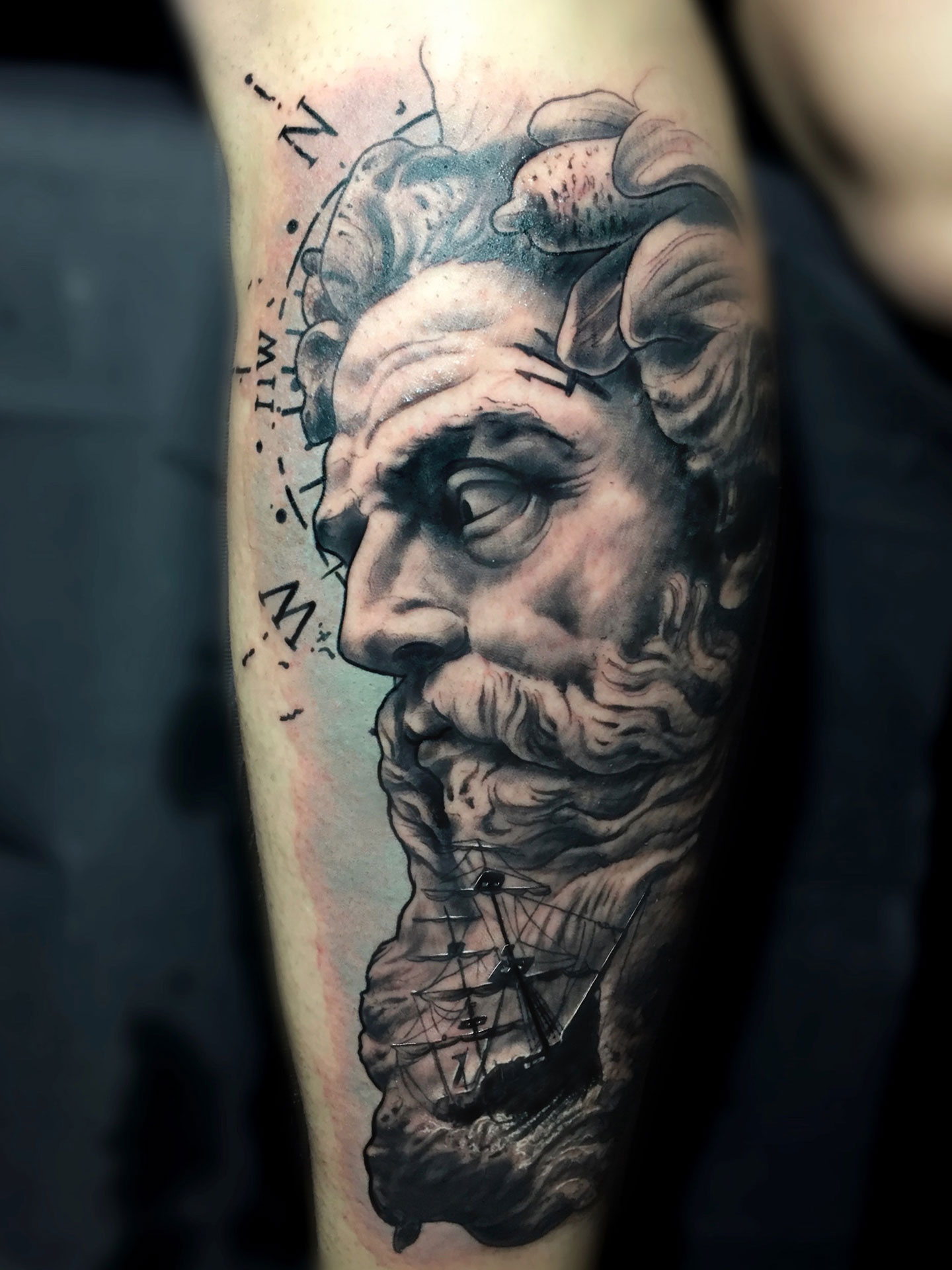 Tatuaje Poseidon