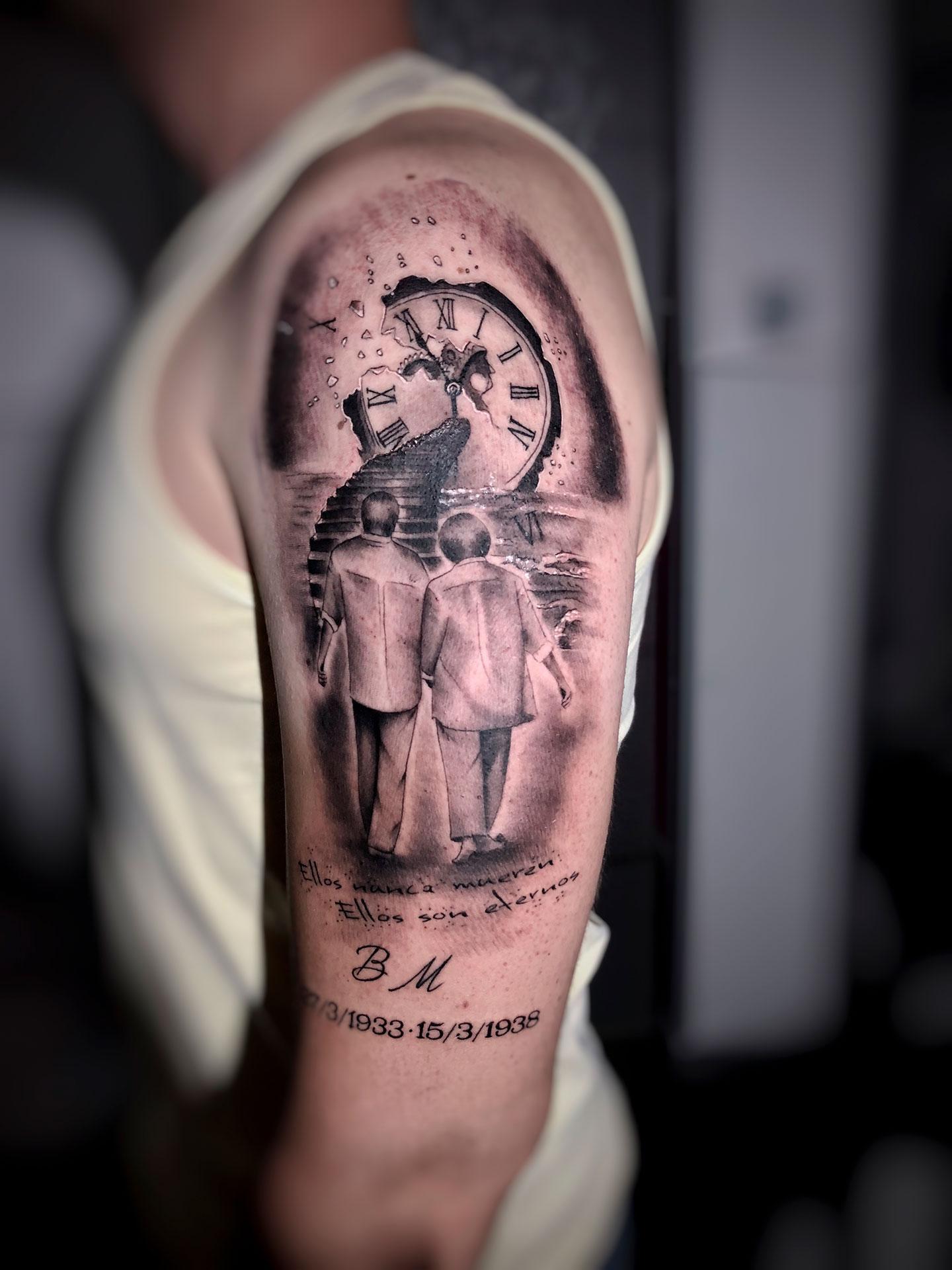 Tatuaje Tiempo