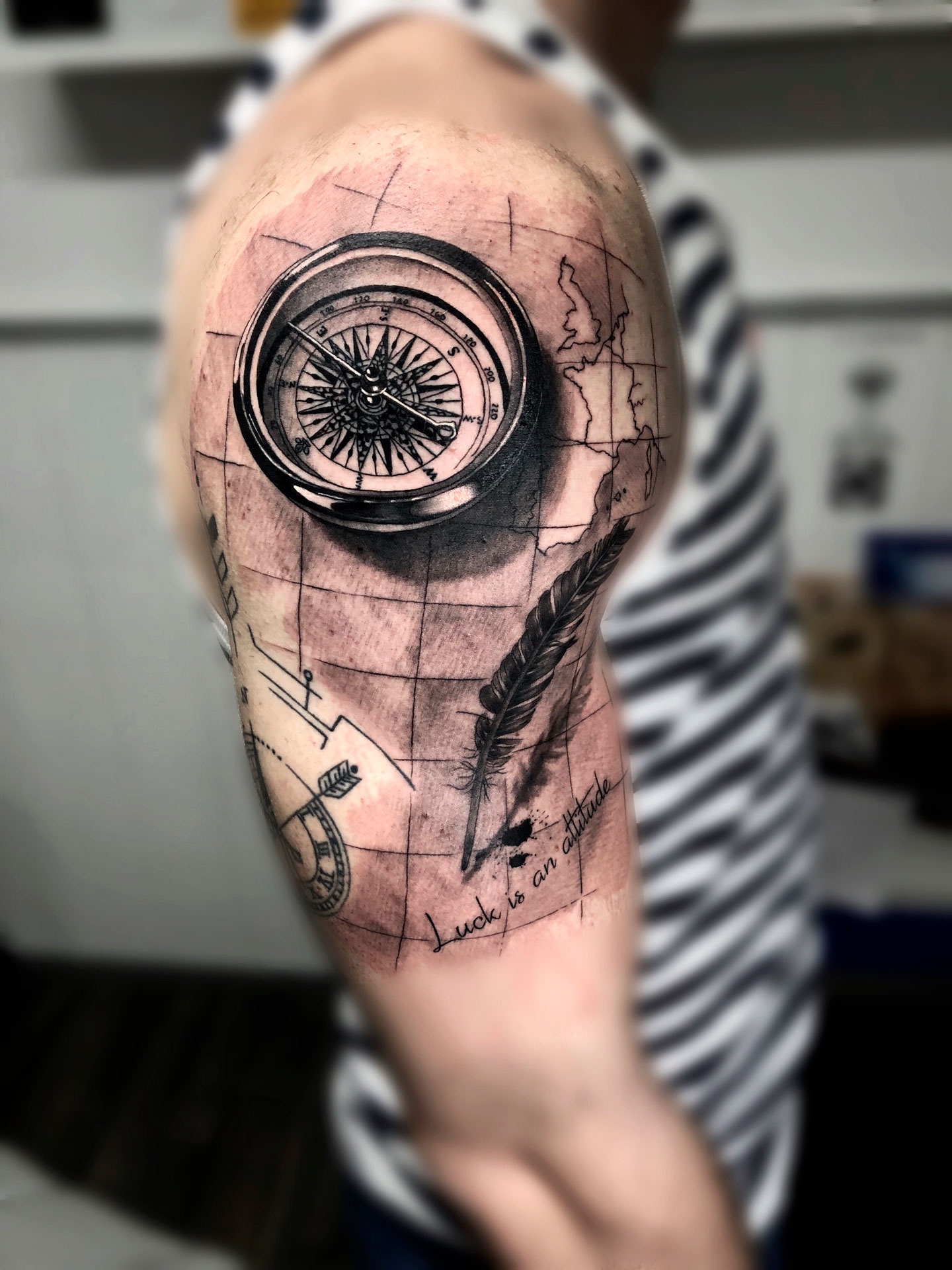 Alex Gallo Energy Art Tattoo
